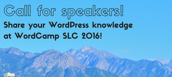 WordCamp SLC, WCSLC, WCSLC 2016, WordCamp SLC, WordCamp Salt Lake City, WordCamp Salt Lake, WordCamps